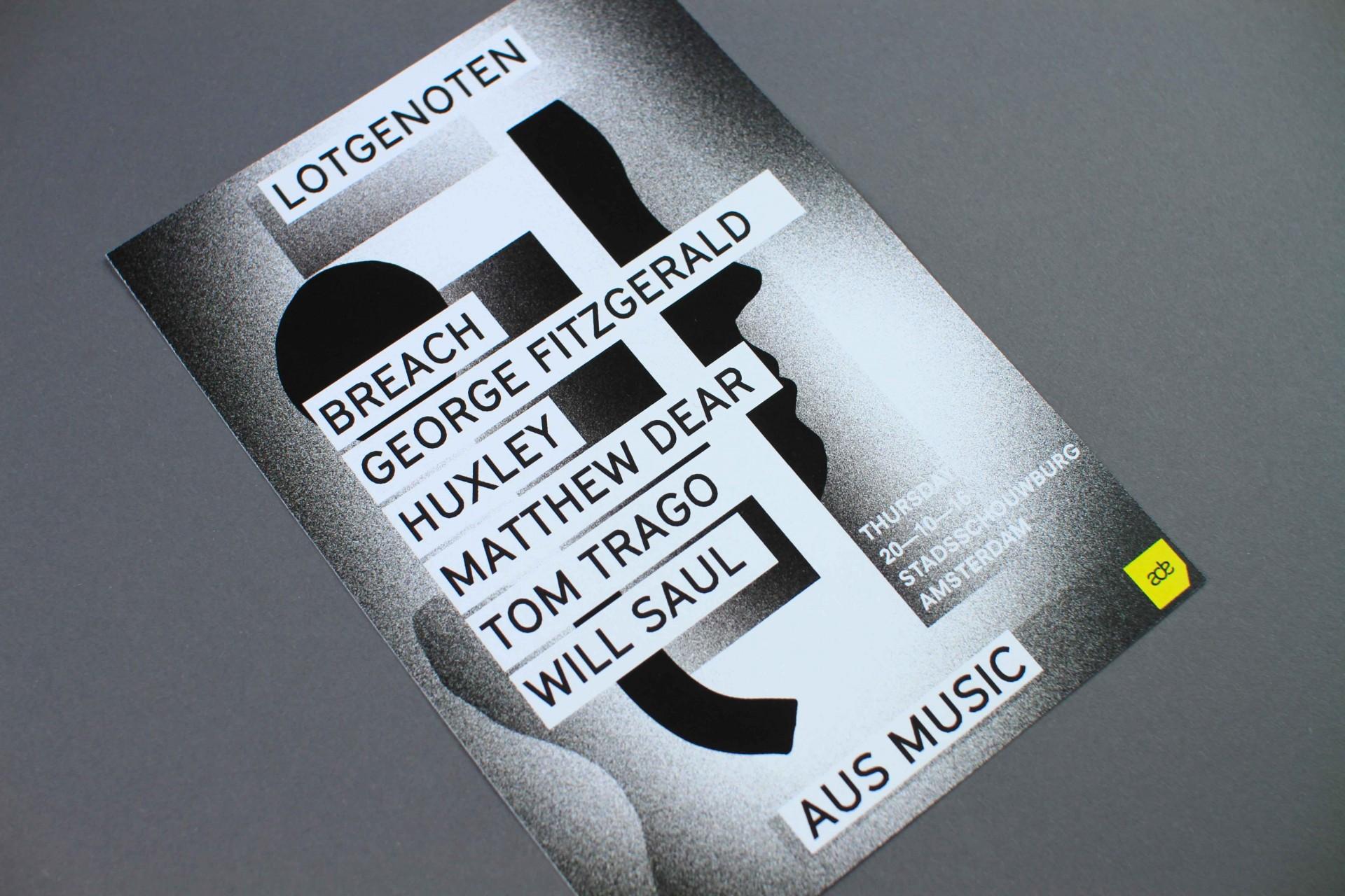 STUDIO JORD NOORBEEK Poster – Lotgenoten