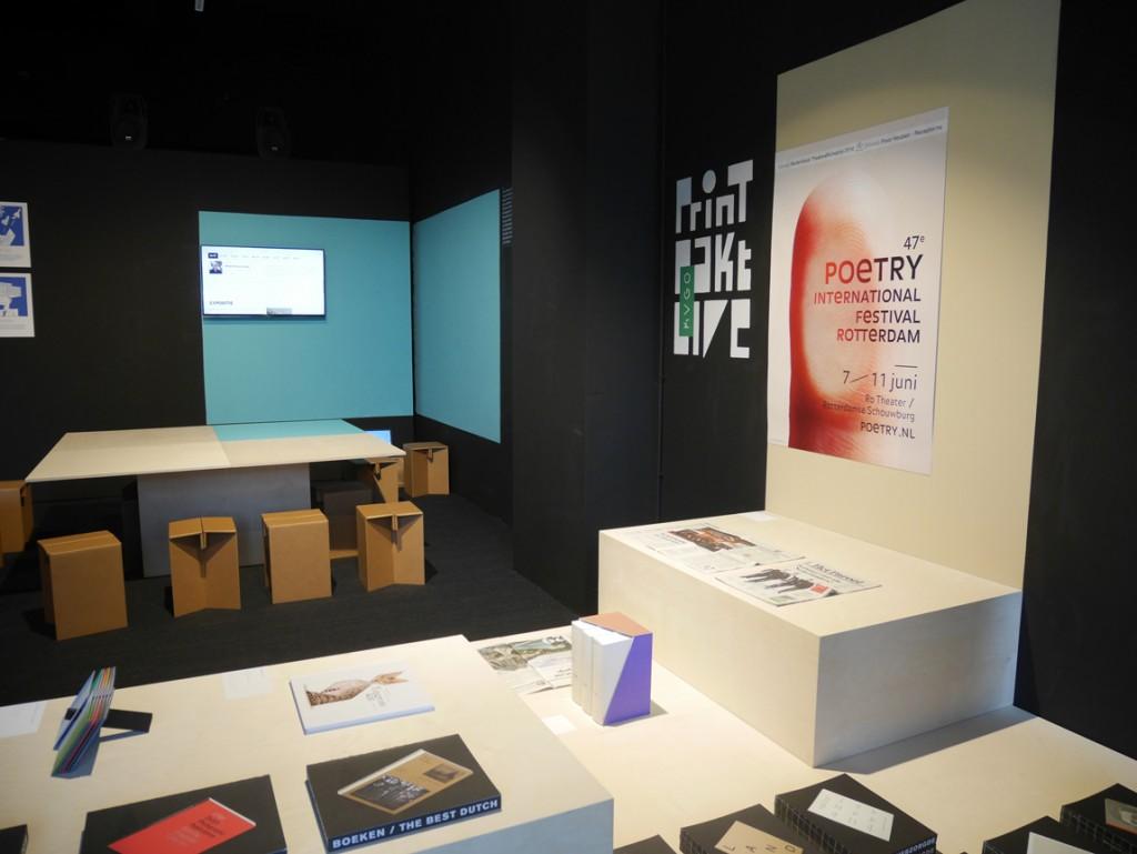 STUDIO JORD NOORBEEK Grafisch / Ruimtelijk ontwerp – Print Pakt Live, Dutch Design Week