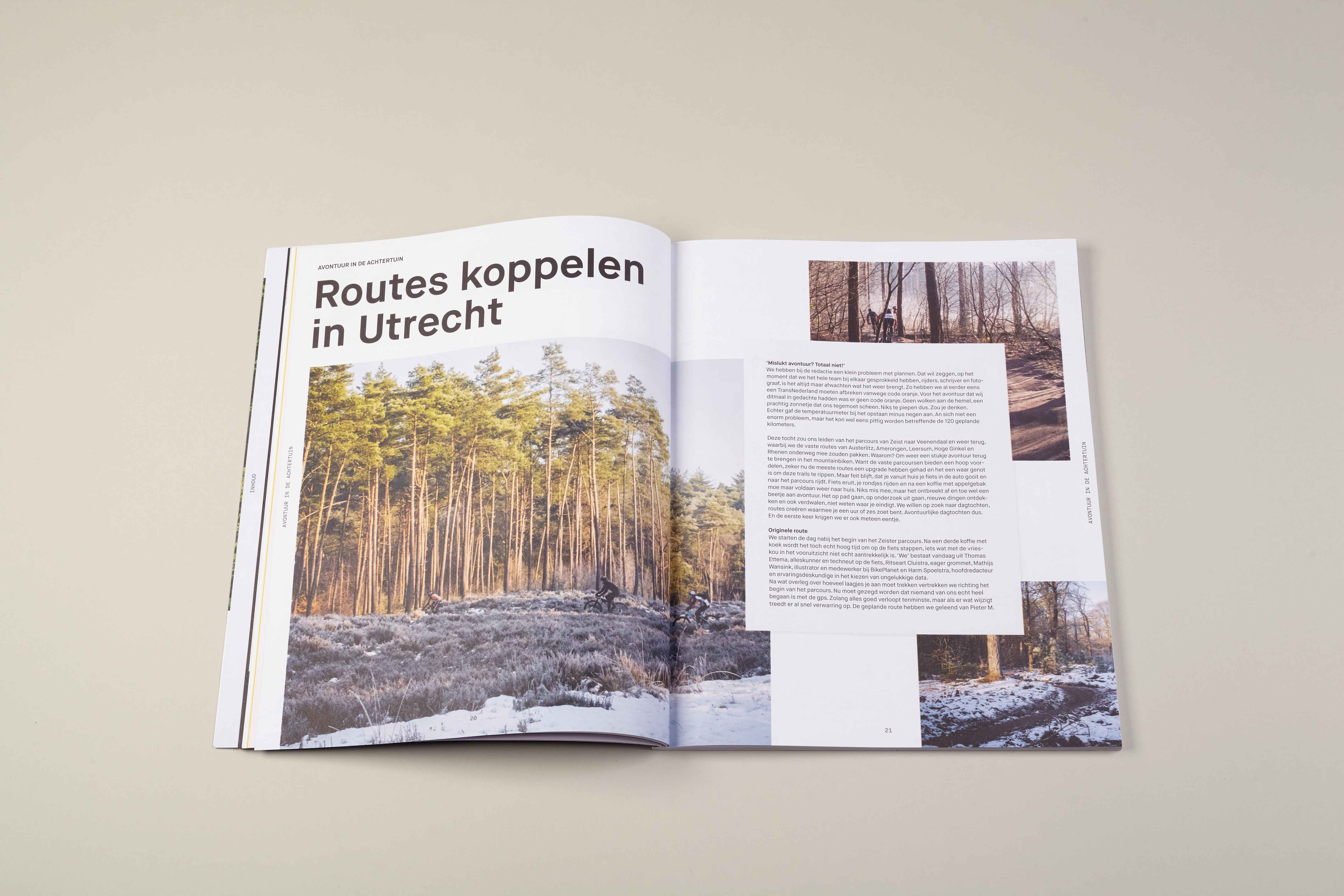 STUDIO JORD NOORBEEK Mountainbike magazine – Up/Down